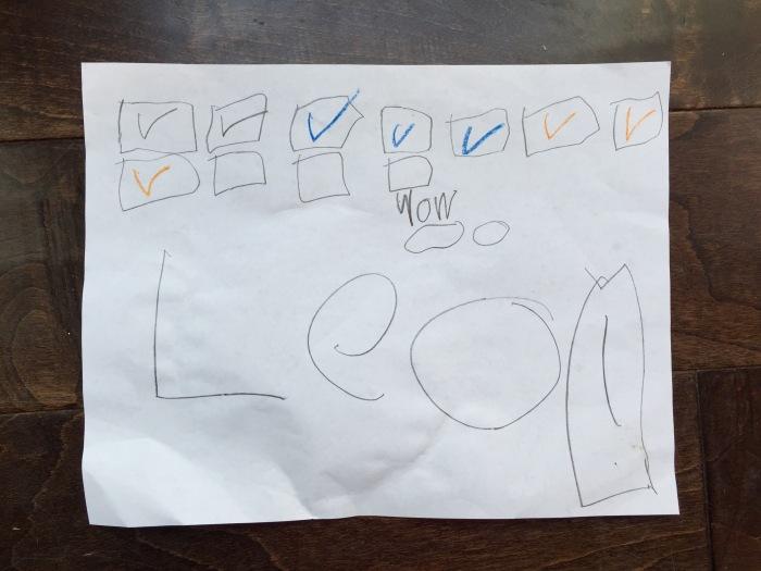 Leo countdown calendar
