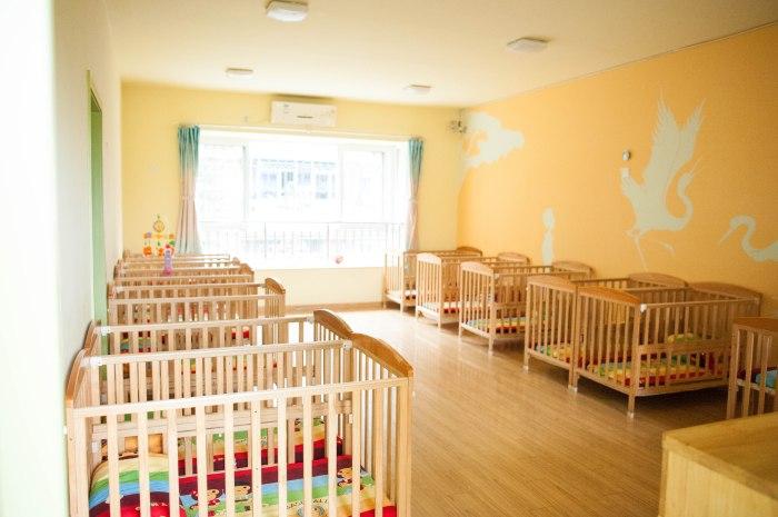 nursery with cribs